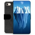 iPhone 7 / iPhone 8 Premium Wallet Case - Iceberg
