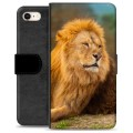 iPhone 7 / iPhone 8 Premium Wallet Case - Lion