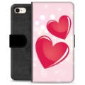 iPhone 7 / iPhone 8 Premium Wallet Case - Love