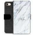 iPhone 7 / iPhone 8 Premium Wallet Case - Marble