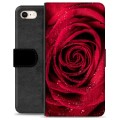 iPhone 7 / iPhone 8 Premium Wallet Case - Rose