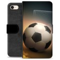 iPhone 7 / iPhone 8 Premium Wallet Case - Soccer