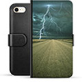 iPhone 7 / iPhone 8 Premium Wallet Case - Storm
