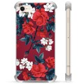 iPhone 7 / iPhone 8 Hybrid Case - Vintage Flowers