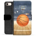 iPhone 7 / iPhone 8 Premium Wallet Case - Basketball
