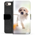 iPhone 7 / iPhone 8 Premium Wallet Case - Dog