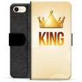 iPhone 7/8/SE (2020) Premium Wallet Case - King