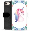 iPhone 7 / iPhone 8 Premium Wallet Case - Unicorn