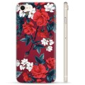 iPhone 7 / iPhone 8 TPU Case - Vintage Flowers