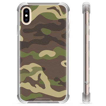 iPhone X / iPhone XS Hybrid Case - Camo