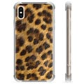iPhone X / iPhone XS Hybrid Case - Leopard