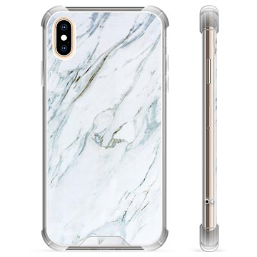 iPhone X / iPhone XS Hybrid Case - Marble