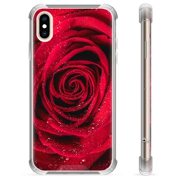 iPhone X / iPhone XS Hybrid Case - Rose