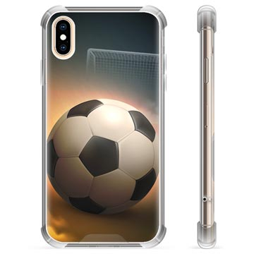 iPhone X / iPhone XS Hybrid Case - Soccer