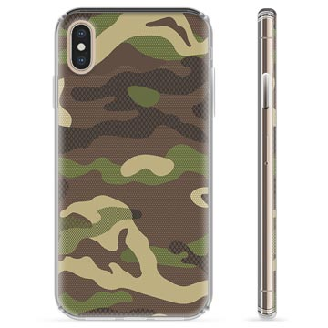 iPhone X / iPhone XS TPU Case - Camo
