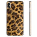 iPhone X / iPhone XS TPU Case - Leopard
