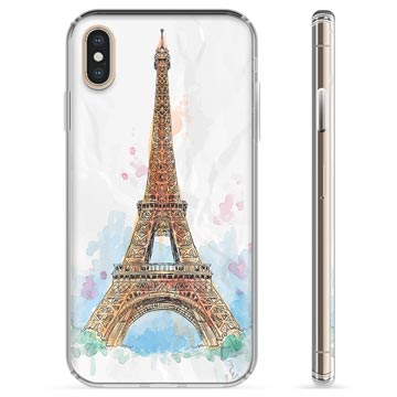 iPhone X / iPhone XS TPU Case - Paris