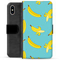iPhone X / iPhone XS Premium Wallet Case - Bananas