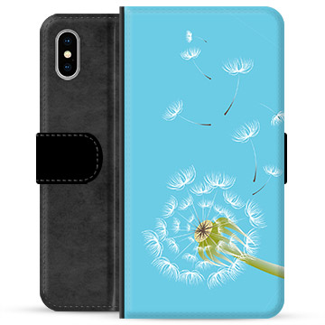 iPhone X / iPhone XS Premium Wallet Case - Dandelion
