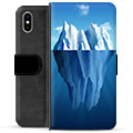 iPhone X / iPhone XS Premium Wallet Case - Iceberg