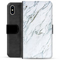 iPhone X / iPhone XS Premium Wallet Case - Marble