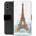 iPhone XS Max Premium Wallet Case - Paris