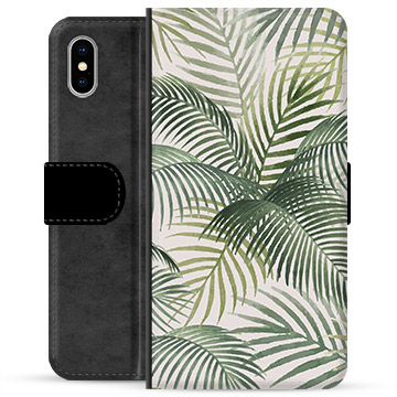 iPhone X / iPhone XS Premium Wallet Case - Tropic