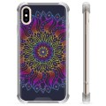 iPhone X / iPhone XS Hybrid Case - Colorful Mandala
