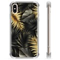 iPhone X / iPhone XS Hybrid Case - Golden Leaves