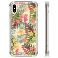 iPhone X / iPhone XS Hybrid Case - Pink Flowers