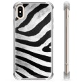 iPhone X / iPhone XS Hybrid Case - Zebra