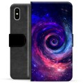iPhone X / iPhone XS Premium Wallet Case - Galaxy