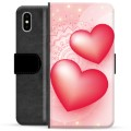 iPhone X / iPhone XS Premium Wallet Case - Love