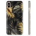 iPhone XS Max TPU Case - Golden Leaves