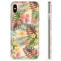 iPhone X / iPhone XS TPU Case - Pink Flowers
