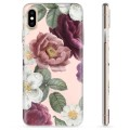 iPhone X / iPhone XS TPU Case - Romantic Flowers