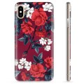iPhone X / iPhone XS TPU Case - Vintage Flowers