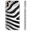 iPhone X / iPhone XS TPU Case - Zebra