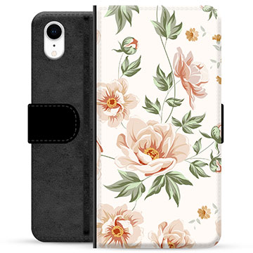 iPhone XR Premium Wallet Case - Floral