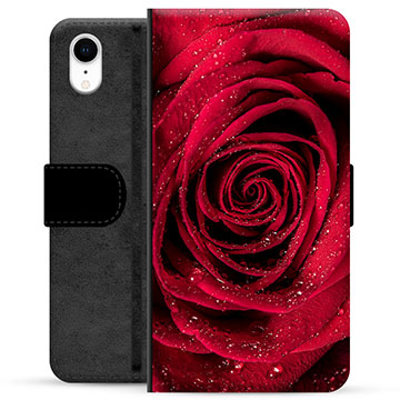 iPhone XR Premium Wallet Case - Rose