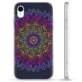 iPhone XR Hybrid Case - Colorful Mandala