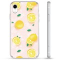 iPhone XR Hybrid Case - Lemon Pattern