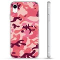 iPhone XR Hybrid Case - Pink Camouflage