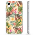 iPhone XR Hybrid Case - Pink Flowers