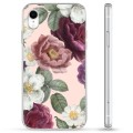 iPhone XR Hybrid Case - Romantic Flowers