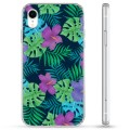 iPhone XR Hybrid Case - Tropical Flower