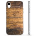 iPhone XR Hybrid Case - Wood