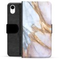 iPhone XR Premium Wallet Case - Elegant Marble
