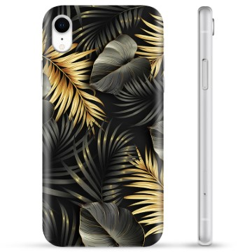 iPhone XR TPU Case - Golden Leaves
