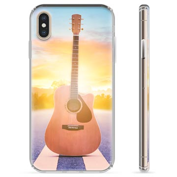 iPhone XS Max Hybrid Case - Guitar